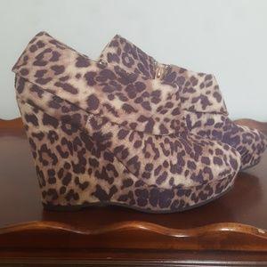 Leopard Madden Girl Booties